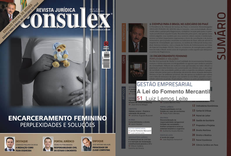 Revista Jurídica Consulex edição nº 364 de 15/03/2012