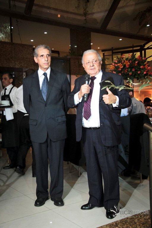 José Fogaça e Luiz Lemos Leite